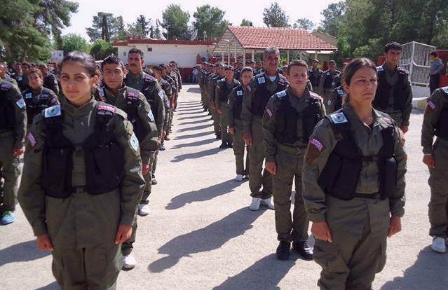 Pasukan Polisi Kurdi Dukung SDF Dalam Operasi Raqqa