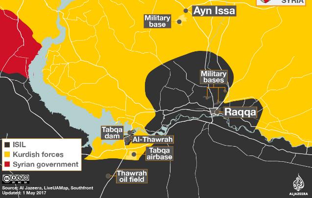 SDF Kuasai Kota Tabqa 90 Persen dari ISIS