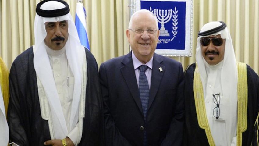 Syeikh Wakil Berbagai Suku Yordania Bertemu Presiden Israel