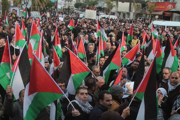 Warga Palestina Ingin Trump Perhatikan Kondisi Ratusan Tahanan Palestina