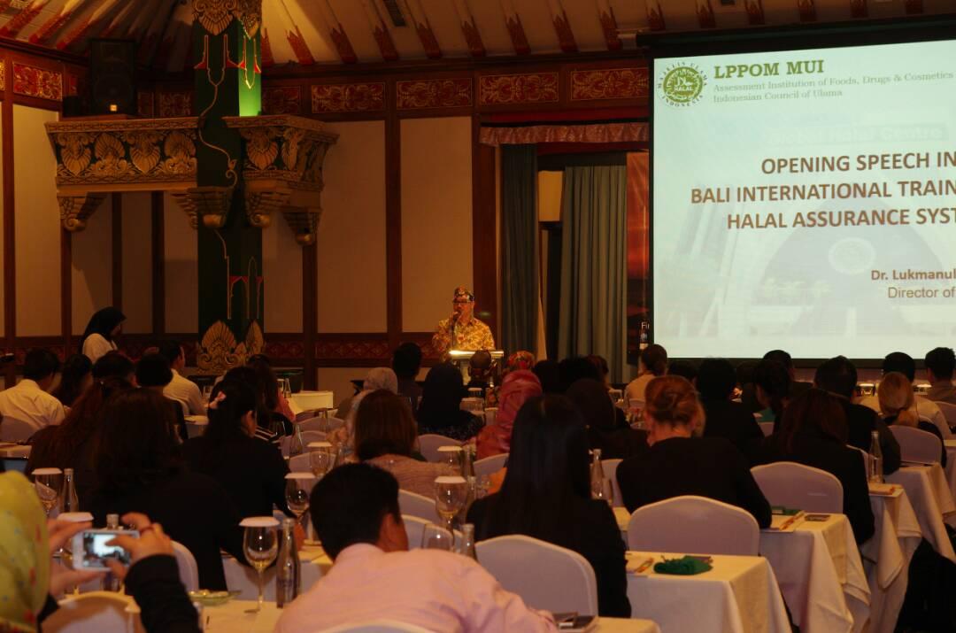 LPPOM MUI Gelar Pelatihan Halal Bertaraf Internasinal di Bali