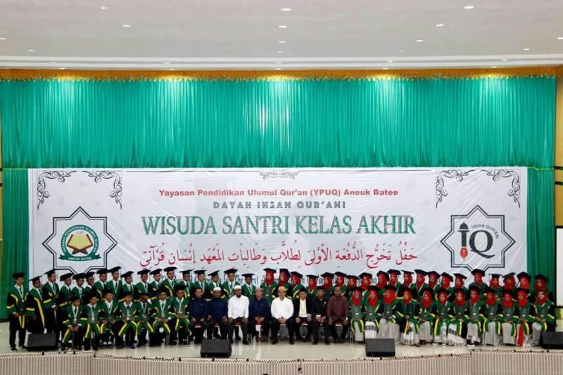 Dayah Insan Qurani Aceh Lahirkan 11 Hafidz Angkatan Pertama
