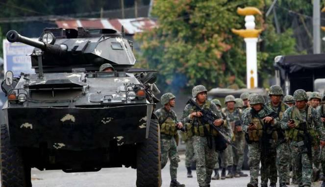 Ulama Muslim Minta Presiden Filipina Hentikan Serangan Udara di Marawi