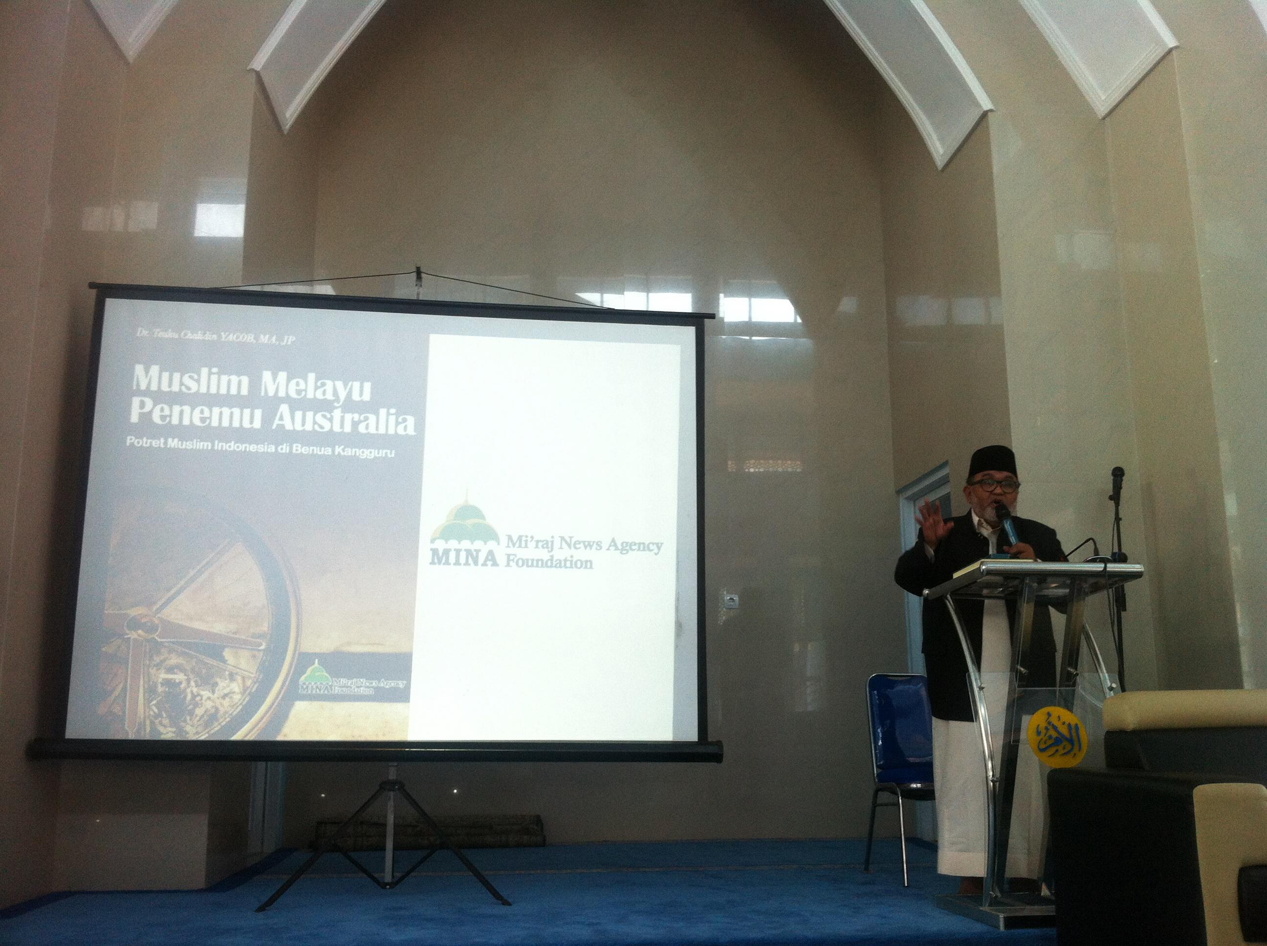 Buku Muslim Melayu Penemu Australia Dibedah di UMMI