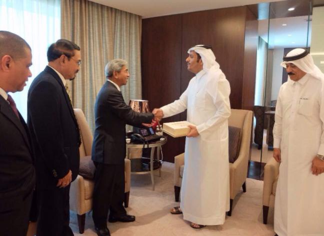 Indonesia-Qatar Siap Bekerjasama Berikan Bantuan Kemanusiaan untuk Myanmar