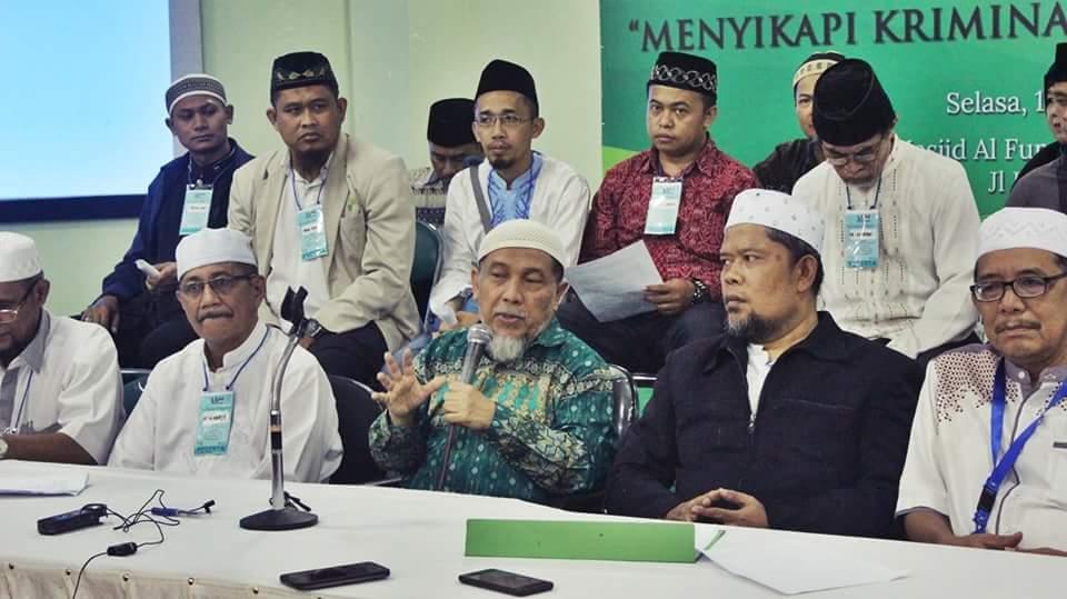 Pernyataan Sikap Bersama Umat Islam Se-Jabodetabek tentang Kesewenangan Hukum