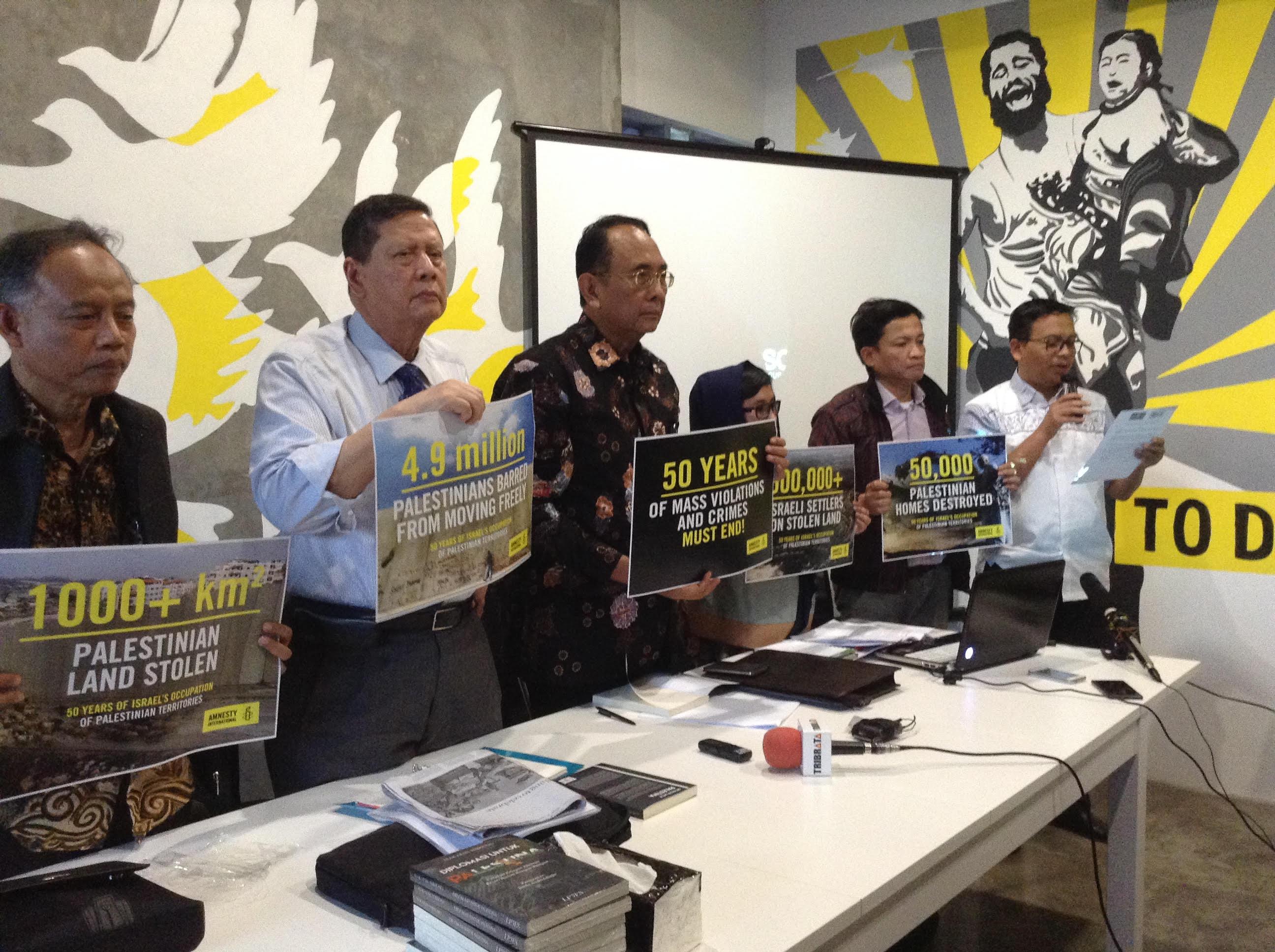 Amnesti Internasional Indonesia : Pengusaha Indonesia Jangan Bisnis Dengan Wilayah Pendudukan Israel