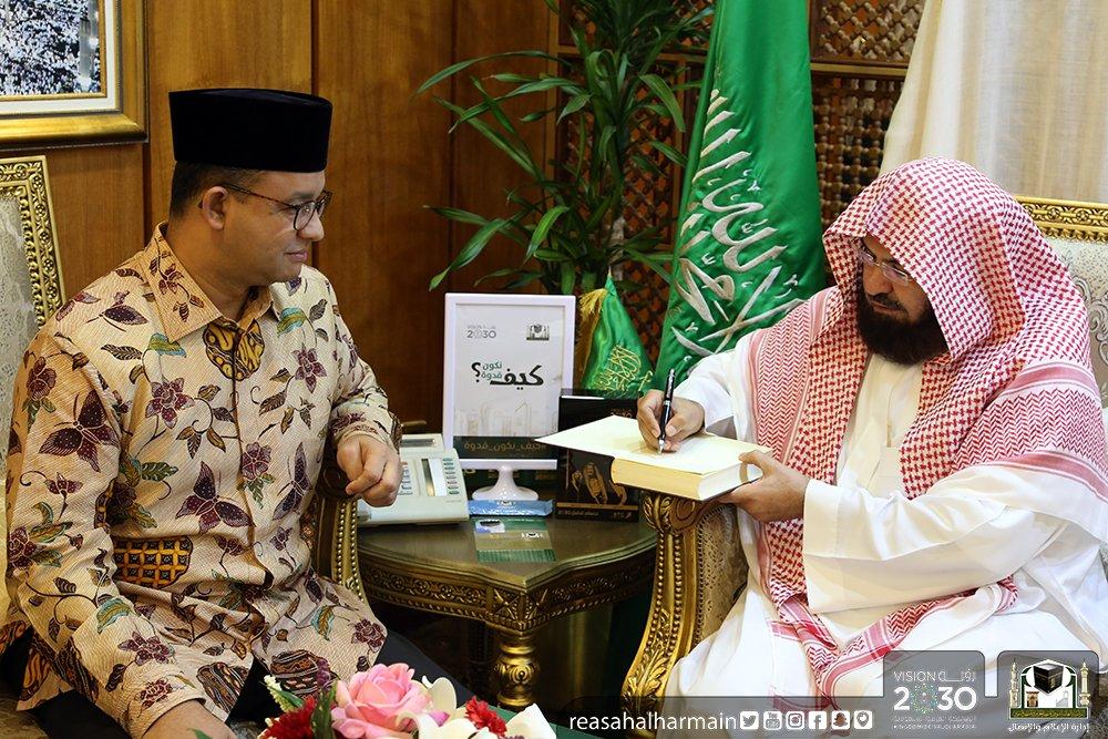 Surat Imam Masjidil Haram untuk Anies Baswedan