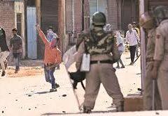 Bentrokan Pecah di Srinagar Usai Salat Jumat