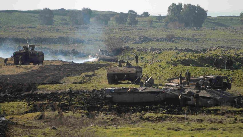 Serangan Mortir Suriah Mendarat di Golan Yang Diduduki Israel