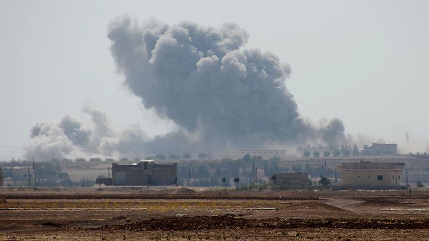 Pasukan Koalisi AS Gempur Tentara Sekutu Rezim Suriah