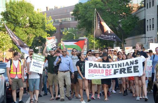 Advokasi Palestina di AS Lakukan Demontrasi Protes 50 Tahun Pendudukan Israel