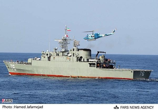 Iran Kirim Dua Kapal Perang ke Perairan Internasional