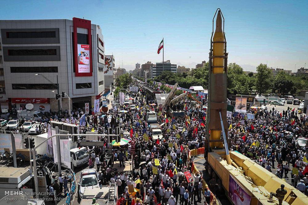 Iran Peringati Hari Al-Quds Internasional