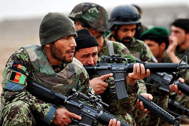 Operasi Pasukan Afghanistan Tewaskan Puluhan Militan Taliban dan ISIS