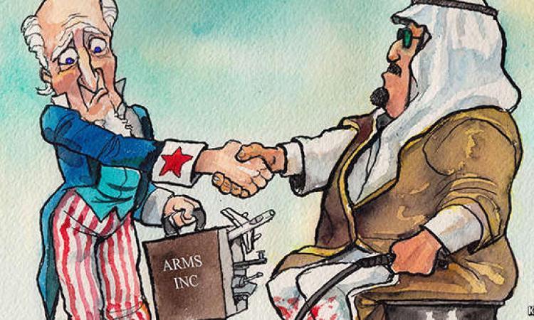 Konflik Negara Teluk dan Perdagangan Senjata Dunia