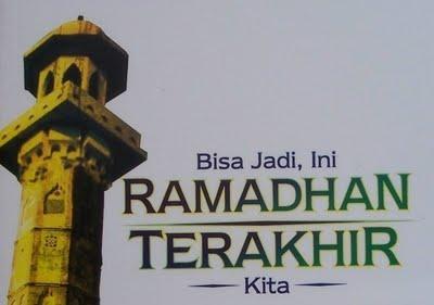 Ketika Ramadhan Pergi