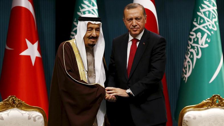 Pemimpin Saudi dan Turki Bahas Upaya Akhiri Krisis Qatar