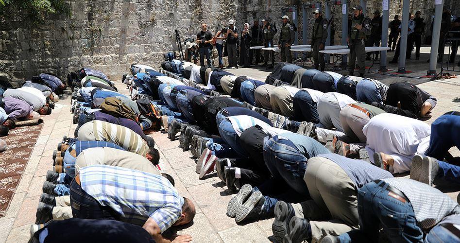 Warga Al-Quds Tolak Pintu Elektronik untuk Masuk Masjid Al-Aqsa