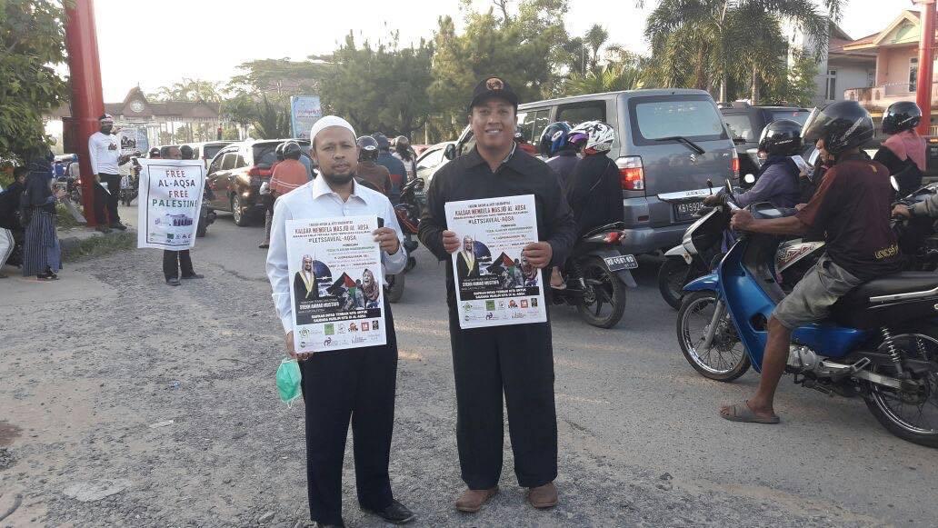 AWG Kalbar Lakukan Aksi Penggalangan Dana untuk Palestina