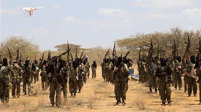 AS Lancarkan Serangan Udara Baru kepada Al Shabaab