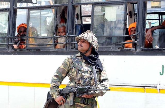 Serang Jemaah Hindu Amarnath, Polisi Lokal Diduga Terlibat