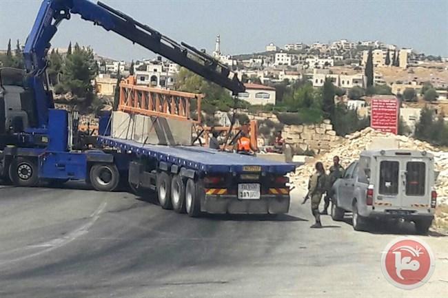 Israel Pasang Gerbang Besi di Pintu Masuk Desa Tepi Barat