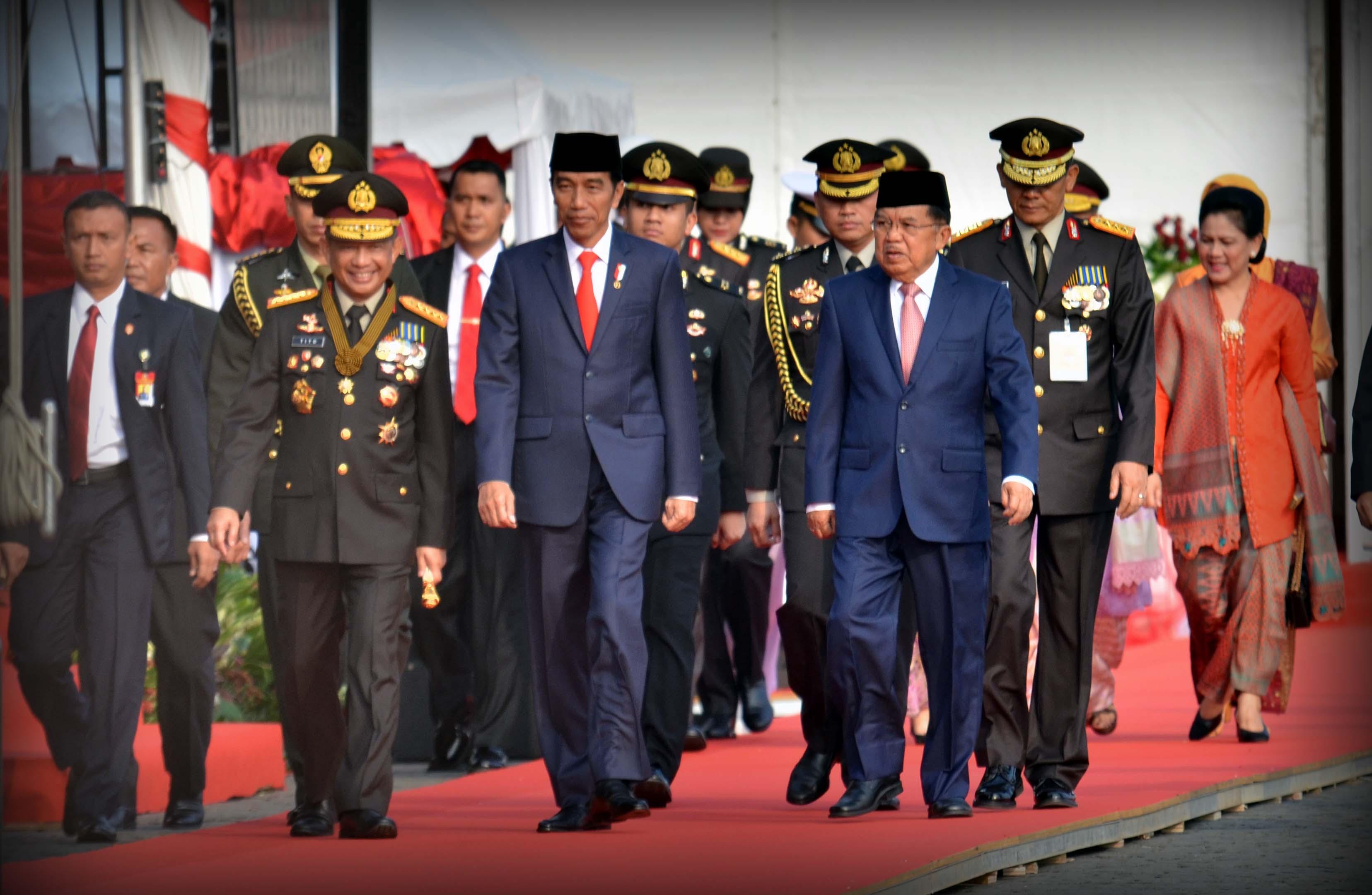 Presiden Jokowi Instruksikan Polri Tekan Korupsi dan Arogansi Kewenangan