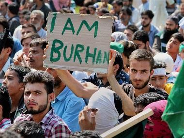 India Larang Demonstrasi Peringatan Kematian Burhan Wani