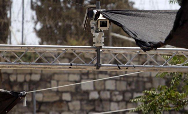 Israel Pasang Kamera Pengawas Baru di Al-Quds