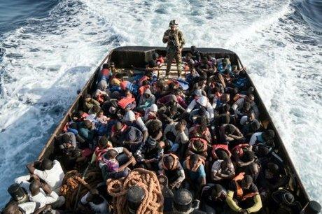 Perancis, Jerman dan Italia Bahas Krisis Migran Ahad Besok