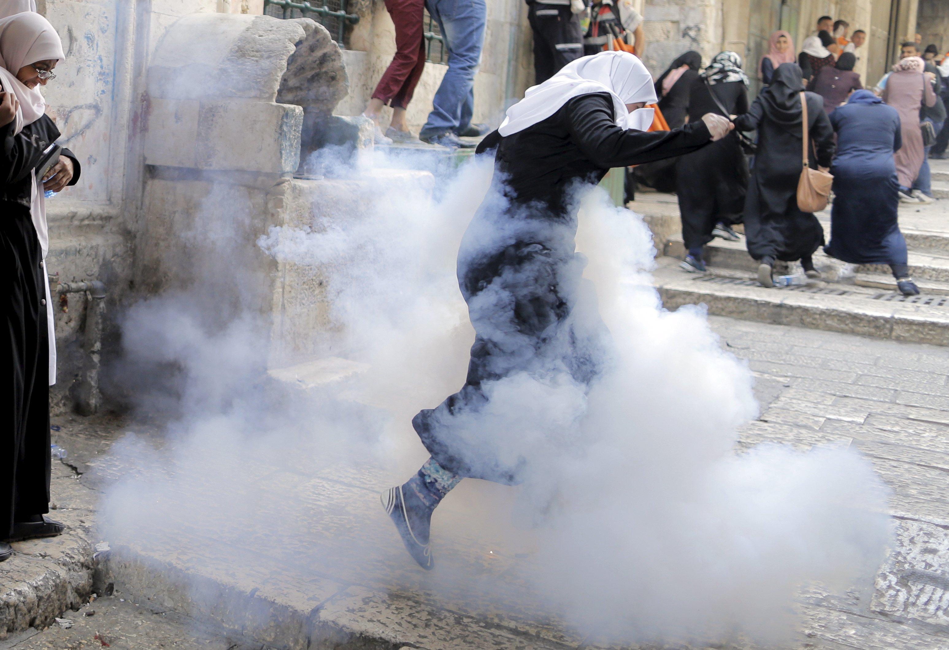 Berdarah di Jumat Kemarahan Al-Quds