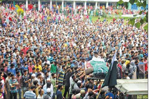 Tahun Ini 95 Pejuang Kemerdekaan Kashmir Tewas