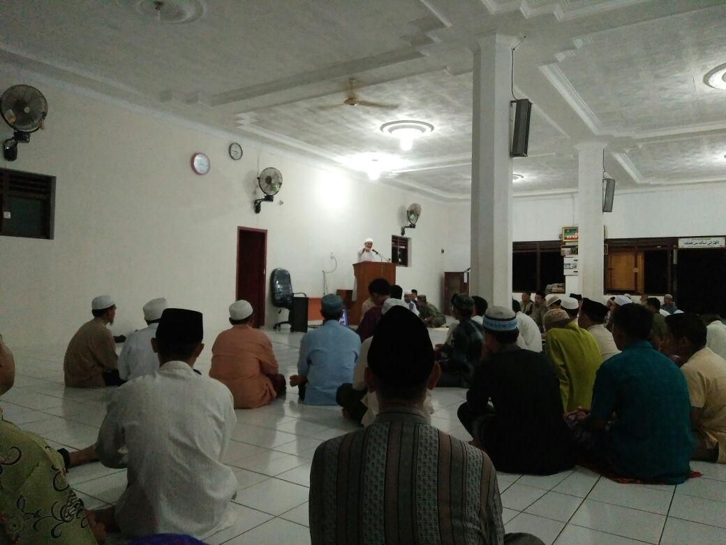 Abdullah Mutholib Himbau Warga Jama'ah Muslimin (Hizbullah) Lampung Kuliah di SQABM