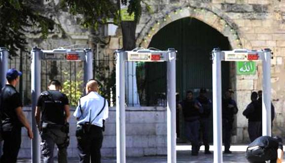 Israel Melunak, Pertimbangkan Ganti Detektor Logam di Al-Aqsha