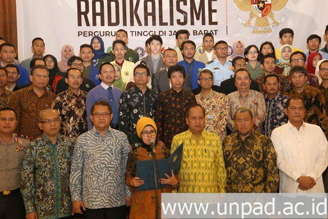Perguruan Tinggi di Jawa Barat Serukan Deklarasi Antiradikalisme