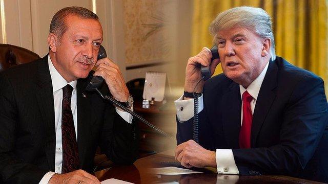 Trump-Erdogan Diskusikan Krisis Qatar Melalui Telepon