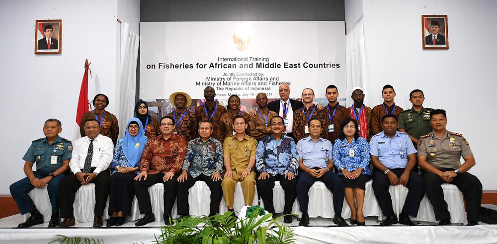 Indonesia Beri Pelatihan Perikanan pada Negara Afrika dan Timur Tengah