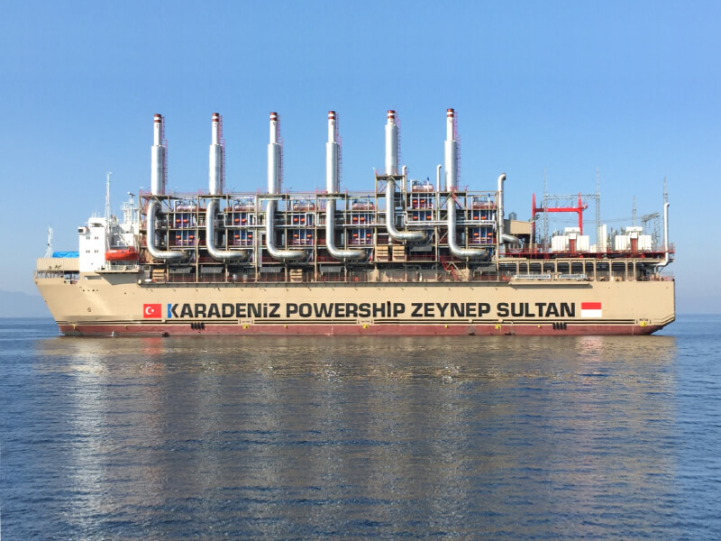 Kapal Pembangkit Listrik Turki Jadi Solusi Defisit Energi di Indonesia
