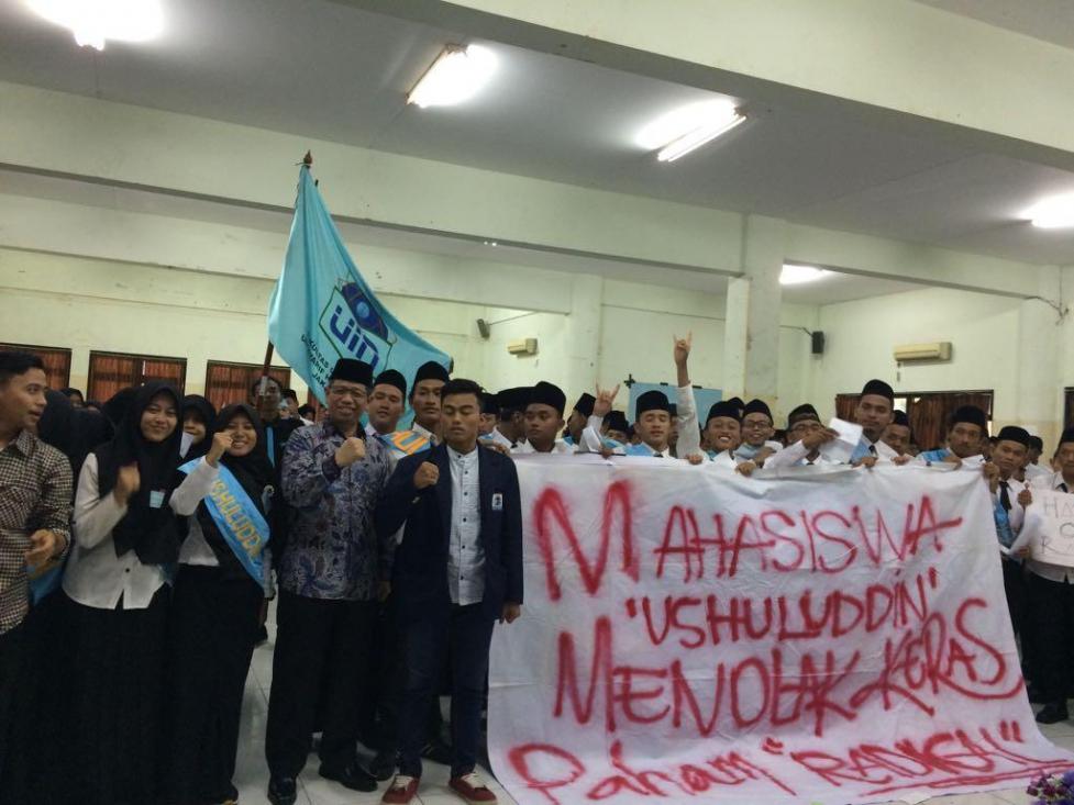Mahasiswa Baru UIN Jakarta Dibekali Deteksi Dini Radikalisme