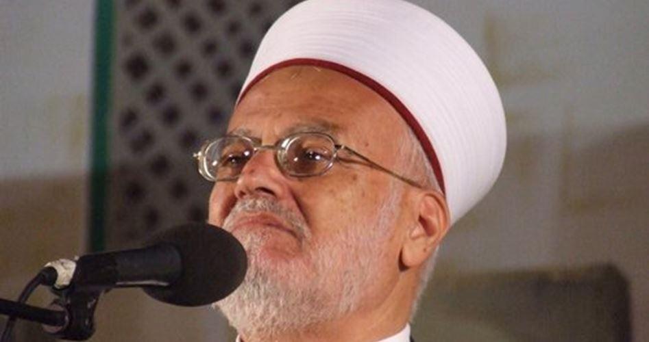 Israel Perpanjang Larangan Syaikh Sabri Masuk ke Al-Aqsa