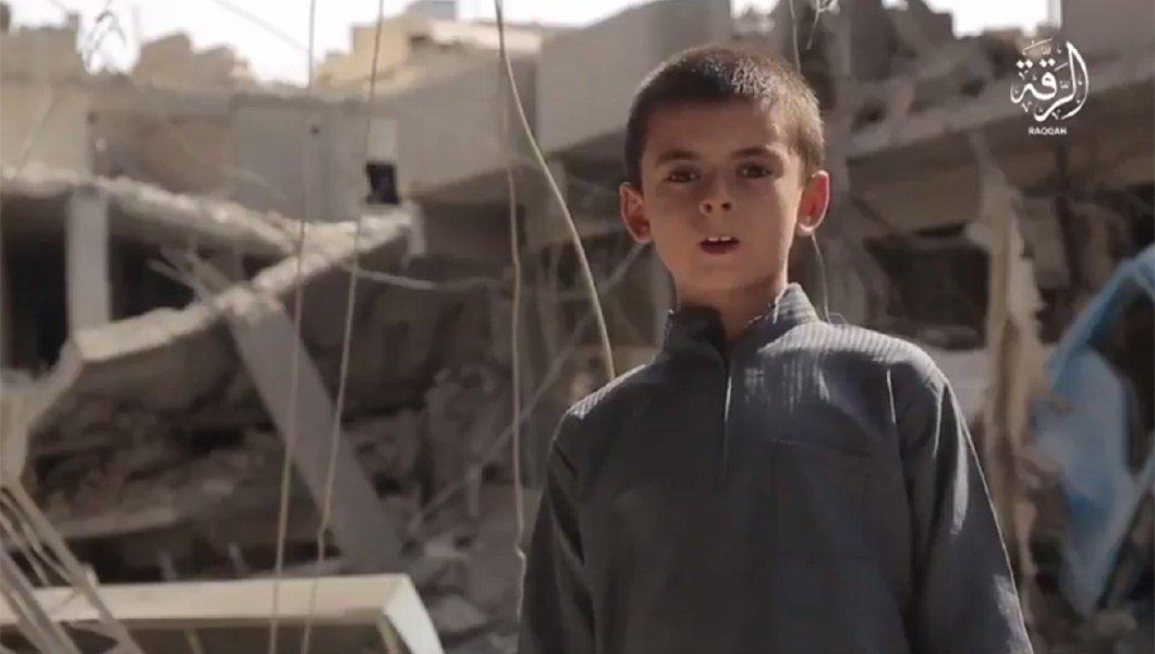 Video ISIS Tampilkan Bocah AS 10 Tahun Ancam Trump