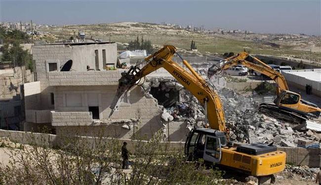 Cara Israel Robohkan Rumah Palestina