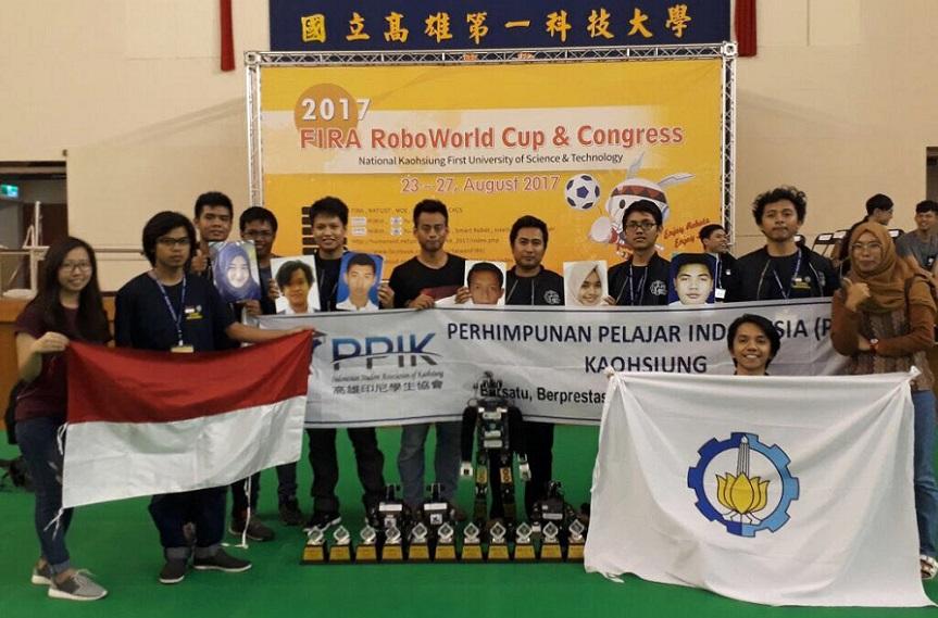 ITS Juara Umum FIRA Hurocup 2017 di Taiwan