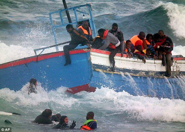 PBB Dukung Italia Tutup Rute Migran dari Libya