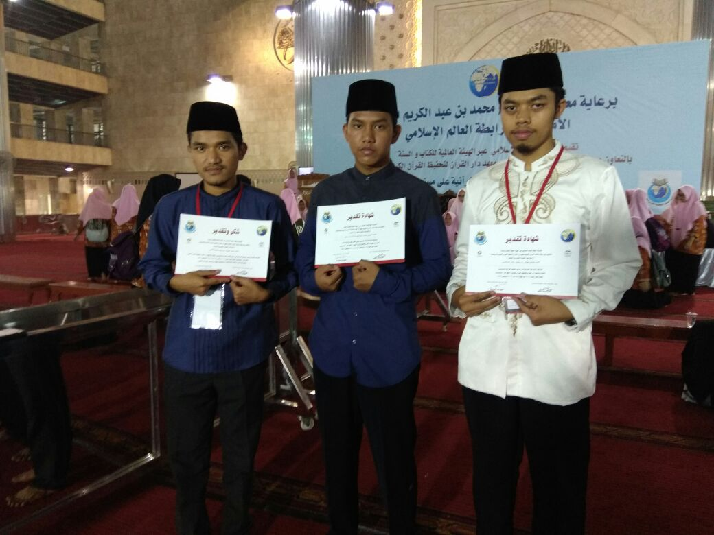 MHQ 30 Juz Antarpesantren Tahfidz Indonesia Ditutup di Masjid Istiqlal