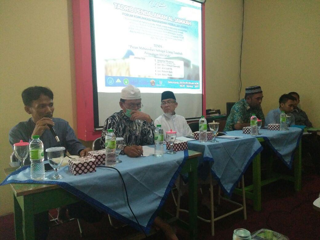 Forum Komunikasi Mahasiswa Hizbullah (FKMH) Gelar Tadrib Al-Jama'ah