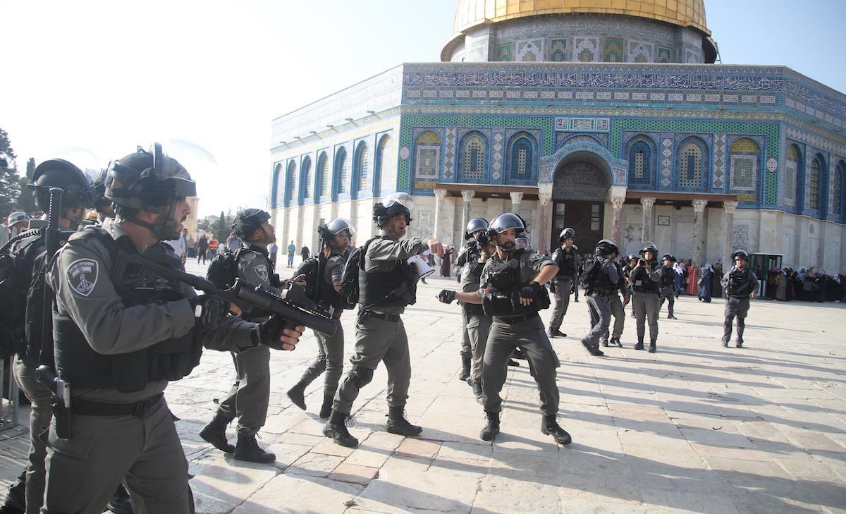 Pasukan Israel Rusak Dokumen Perpustakaan Masjid Al-Aqsha