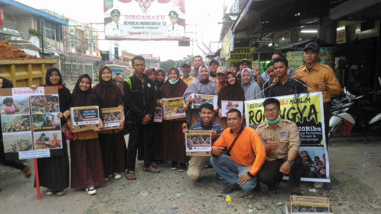 Singkawang Mayoritas Tionghoa, Santri Al-Fatah Kumpulkan Donasi Rohingya Rp150 juta