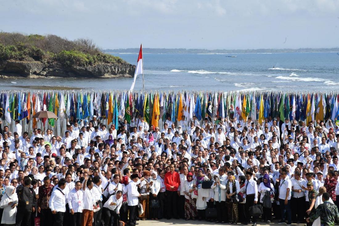 Jokowi Ingatkan Kampus Tak Jadi Tempat Penyebaran Radikalisme